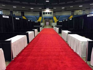 For best price on convention or expo rental services, contact Page & Brown Convention Services.
